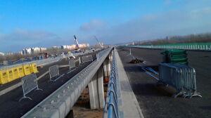 Most Północny: [br]ostatni etap budowy