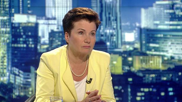 """Hanna Gronkiewicz-Waltz w """"Faktach po Faktach"""" TVN24"""