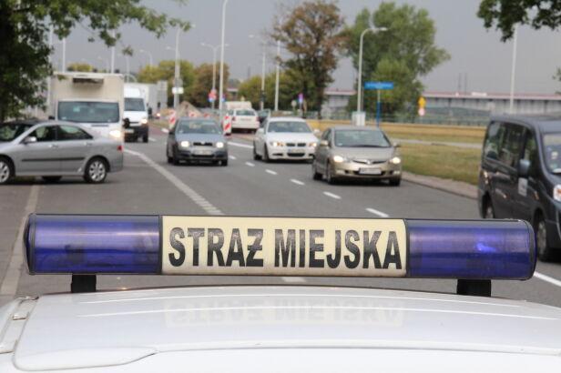 Straż miejska Lech Marcinczak /tvnwarszawa.pl