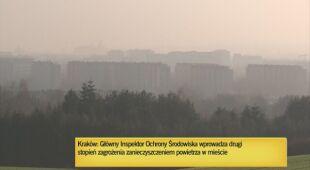Smog rozsnuł się w Krakowie